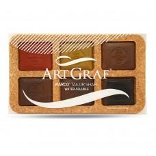 Art Graf VIARCO Earth Tones Set 6  CLEARANCE