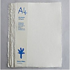 Khadi White Rag Cold-Press 320gsm A4 –  pkt 20 sht