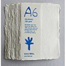 Khadi White Rag Cold-Press 320gsm A6 –  pkt 20 sht